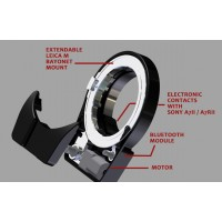 Bague d'adaptation Techart Pro pour Sony Alpha 7